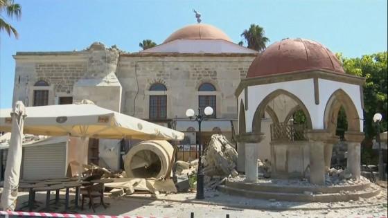แผ่นดินไหวนอกชายฝั่งกรีซ-ตุรกี 6.7 แมกนิจูด ตาย 2 ราย เจ็บนับร้อย