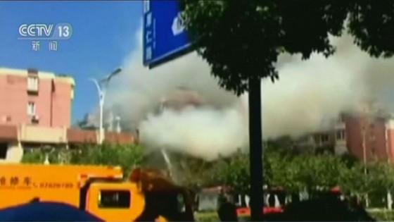 ระทึก! เหตุแก๊สระเบิดกลางเมืองหางโจว