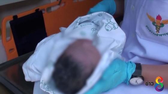 หญิงวัย 30 ปี ปวดท้องคลอดลูกในวันแม่แห่งชาติ
