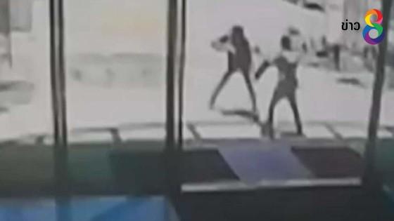 เร่งล่า 2 คนร้ายใช้อาวุธปืนจี้ชิงเงิน รปภ.หน้าห้างดังกลางเมืองหาดใหญ่