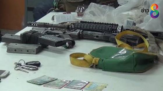 ตำรวจสตูลจับหนุ่มพกเครื่องกระสุนและอาวุธสงครามสืบเอี่ยวโจรใต้