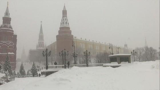 รัสเซียพบผู้เสียชีวิตหลังเผชิญหน้าอากาศหนาวจัด