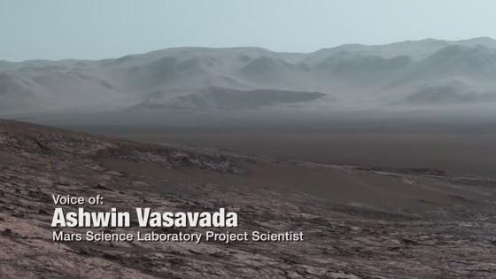 นาซ่าเผยภาพบนดาวอังคาร บรรยากาศคล้ายโลก