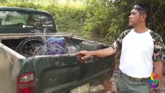 ตั้ง 2 ข้อหาคนดูแลสวนปล่อยกระแสไฟฟ้าช็อตช้างป่าตายเป็นตัวที่ 2