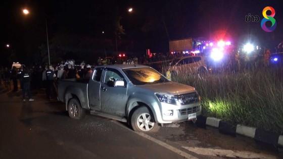 ตำรวจวิสามัญชายเมายา-ซุกซ่อนยาเสพติด ขับรถแหกด่านหนีข้ามอำเภอ