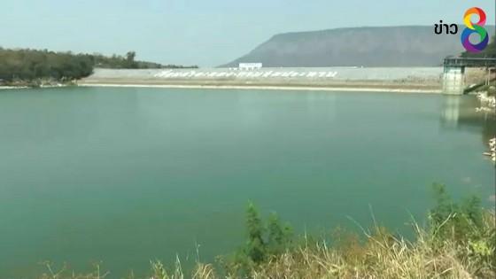 ฝนทิ้งช่วงย่างเข้าฤดูหนาว ทำอ่างเก็บน้ำใหญ่ 5 แห่งในโคราชน้ำลดลงฮวบ