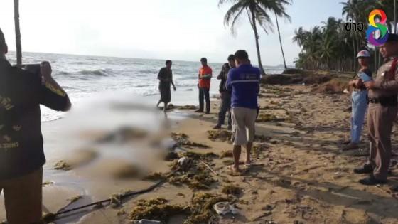 """พบศพนิรนามหัวขาดเกยหาด ที่ จ.ชุมพร คาดเหยื่อ """"ปาบึก"""""""