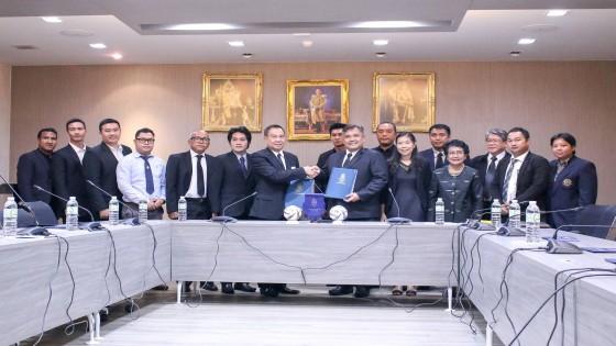 ส.บอลไทย เซ็นสัญญา ม.เกษตรฯ ร่วมแผนพัฒนาฟุตบอลแห่งชาติ 20 ปี