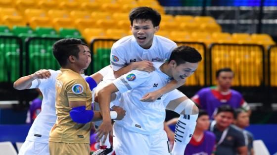 ฟุตซอลไทย U-20 อัด อิเหนา 4-2 ลิ่วตัดเชือกเอเชีย
