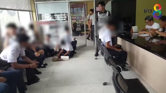 นักเรียนเทคนิคยิงปืนใส่คู่อริบนรถสองแถวเจ็บ 2 คน หลังไม่พอใจถูกเยาะเย้ย