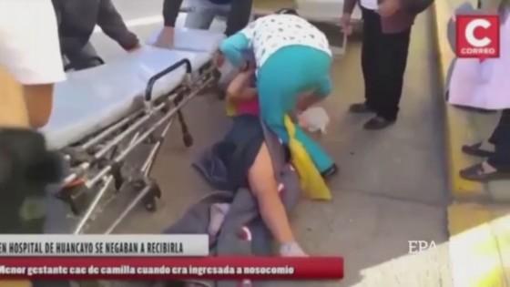 เจ้าหน้าที่พยาบาลเปรูทำหญิงตั้งครรภ์ป่วยร่วงเตียง  2 ครั้งซ้อน