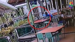 (คลิป) เด็กน้อยพลัดตกบ่อปลากลางร้านอาหาร...