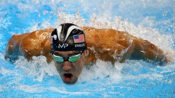 """""""เฟลป์ส"""" ตำนานเหรียญทอง โอลิมปิก ว่ายน้ำแข่งกับฉลาม..."""