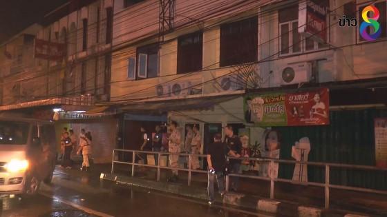 บุกจับหญิงต่างด้าว และคนไทย 22 คนค้าประเวณี