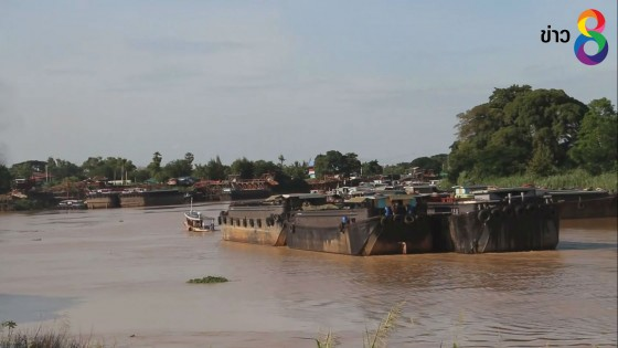 ปภ.อ่างทอง ขอเรือบรรทุกเพิ่มความระมัดระวัง หลังเกิดเหตุชนตอม่อสะพาน