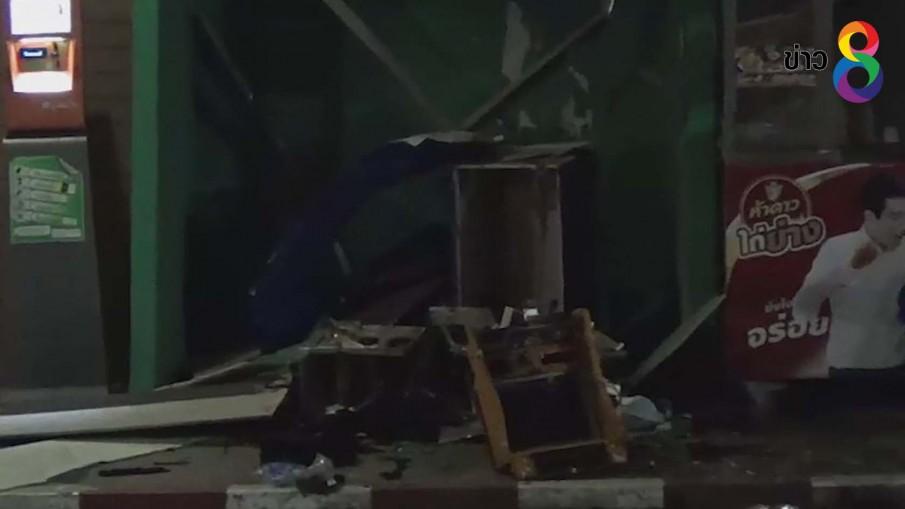 ระเบิดตู้เอทีเอ็มในซอยกรุงเทพกรีฑา35 คาดหวังลักทรัพย์