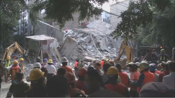 เม็กซิโกแผ่นดินไหวรุนแรง 7.1 เสียชีวิตแล้วกว่า 100 ราย