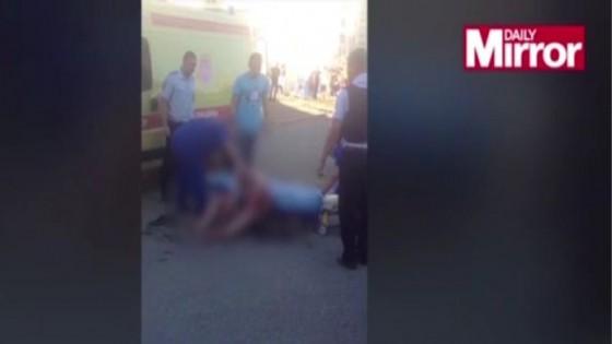 ชายรัสเซียป่วยทางจิต ตัดศีรษะเหลนวัย 18 เดือนหิ้วไปตามถนน