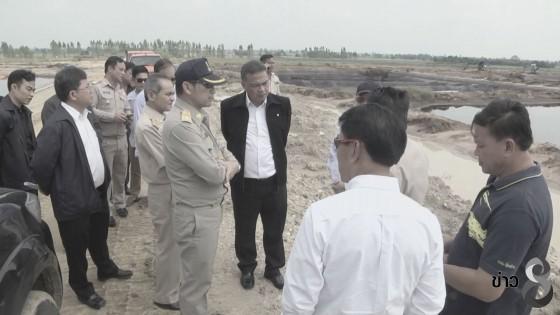 รองผู้ว่าฯสุพรรณบุรี สั่งปิดโรงงาน 45 วัน หลังมีน้ำเสียทะลักบ้านเรือน 3 อำเภอ