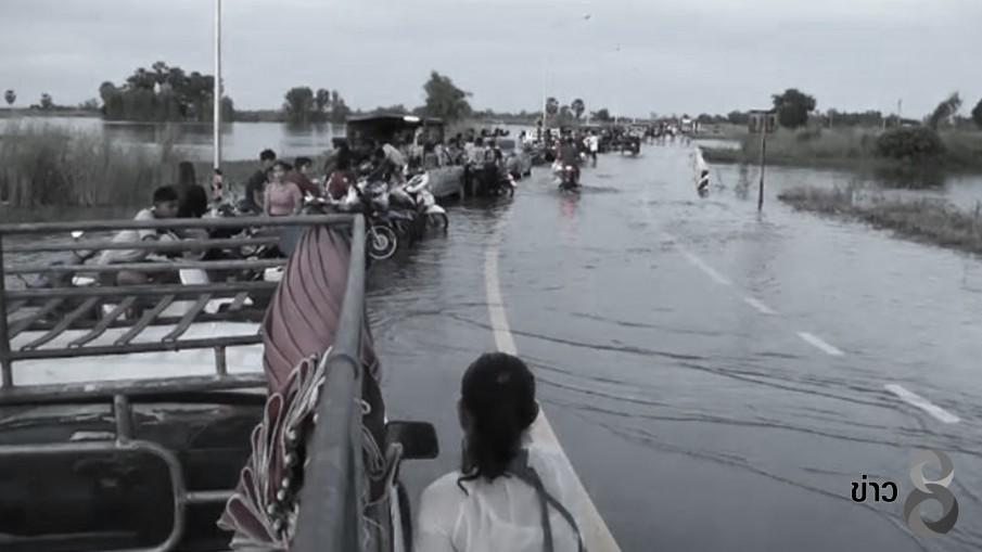พิจิตรแม่น้ำยมเพิ่มระดับท่วมสวนฝรั่งผลผลิตเสียหาย...