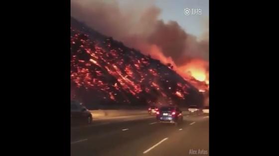 ไฟป่าลุกไหม้ในแอลเอเผาทำลายเสียหาย 16 ตร.กม.