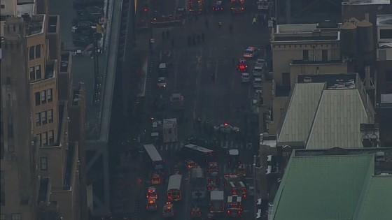 เกิดเหตุระเบิดสถานีรถบัสในนิวยอร์ก เจ็บ 4