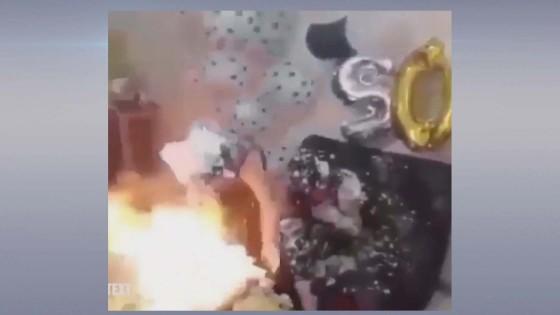 สองสาวอิหร่านไฟลุกท่วม หลังโฟมหิมะติดไฟขณะฉลองวันเกิด