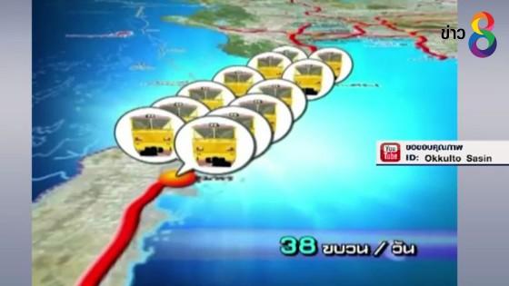 รองนายกรัฐมนตรี ลงนามสัญญาจ้างโครงการรถไฟฟ้าทางคู่ระยะเร่งด่วน 5...