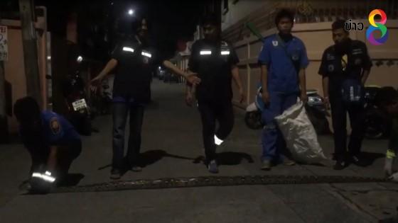 ผวา!งูเหลือมยาว4เมตรเข้าบ้านหญิงวัย46ปี โร่ร้องกู้ภัยช่วยจับ(คลิป)