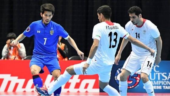 แข้งโต๊ะเล็กอิหร่าน สอนเชิงไทย 9-1 ร่วงรอบ8ทีม อช.