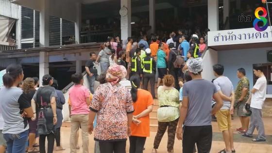 พ่อค้าแม่ค้าร้อง หลังเทศบาลหาดใหญ่ ประกาศห้ามขายของ ตลาดสดพลาซ่า 2
