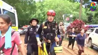 เปิดตัวฮีโร่นานาชาติ ระดมทีมช่วยชีวิตทีมหมูป่าออกจากถ้ำหลวง
