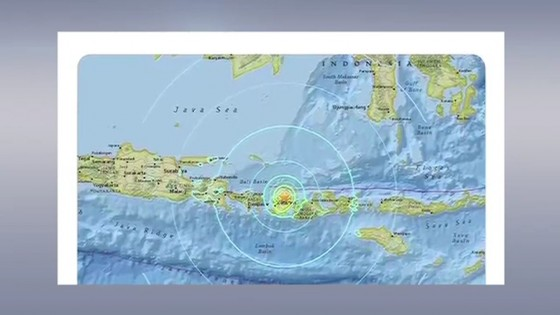 อินโดนีเซียประกาศเตือนภัยสึนามิ หลังเกิดแผ่นดินไหวใกล้เกาะลอมบอก