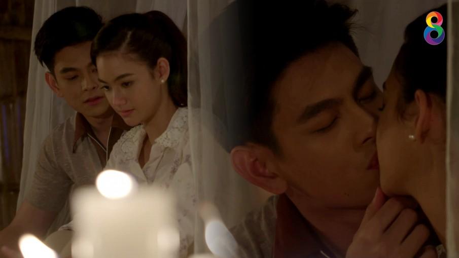 """""""เอี๊ยง-นนนี่"""" สปิริตแรง จูบหวาน...กลางแสงเทียน"""