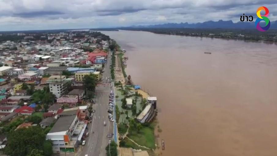 ปริมาณแม่น้ำโขงที่นครพนมลดต่อเนื่อง เจ้าหน้าที่เร่งสำรวจความเสียหายเพื่อเยียวยา