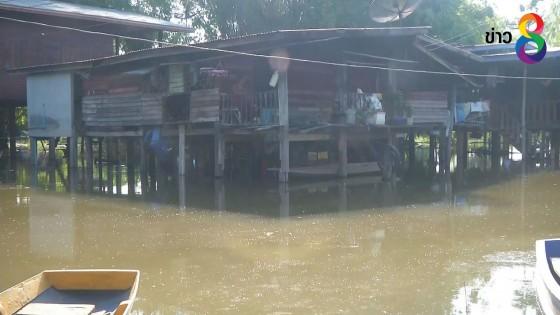 พิจิตรน้ำท่วมขังหมู่บ้านติดเกาะน้ำท่วมนานกว่า 2 เดือน