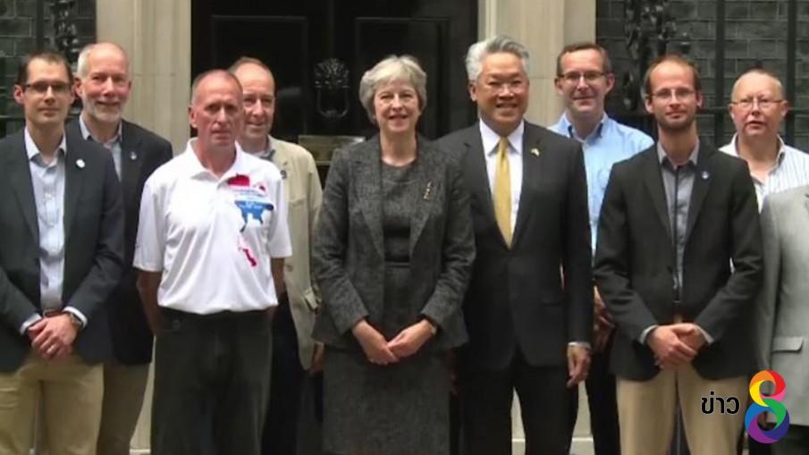"""อังกฤษเชิดชู """"ทีมนักดำน้ำ"""" ช่วยทีมหมูป่าเป็น """"บุคคลแห่งปี"""""""