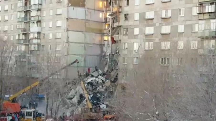 แก๊สระเบิดอพาร์ทเม้นท์รัสเซีย ตาย 4 เจ็บเกือบ 80 คน