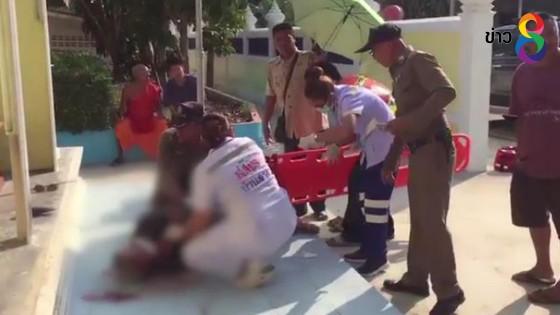จ่อแจ้งข้อหาฆ่าโดยเจตนาชายวัย 86 ไล่ยิงหลานเขย ยิงตัวเองสาหัส