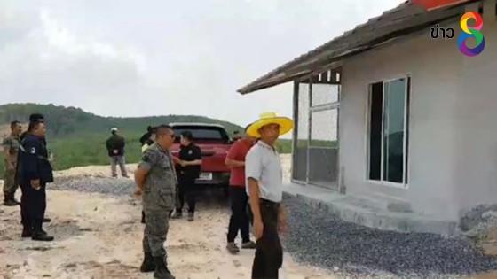 เจ้าหน้าที่ตรวจสอบจับกุมนายทุนบุกรุกป่าสงวนแห่งชาติ สร้างบ้านพัก