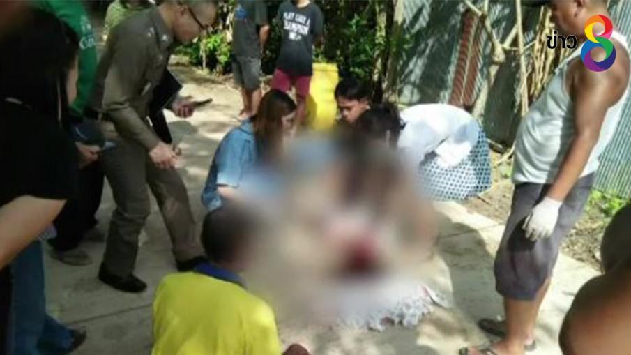 อุทาหรณ์เด็ก 3 ขวบ ขี่รถเด็กหน้าบ้านถูกรถหกล้อเฉี่ยวดับ