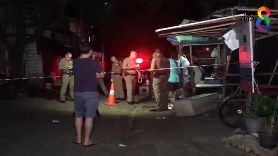 คนขับรถ จยย.รับจ้างถูกยิงเสียชีวิต ในซอยรัชดา 32