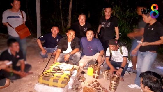 ตำรวจลำปางบุกจับพ่อค้ายาบ้าซุกคอกวัว 1 ล้านเม็ด