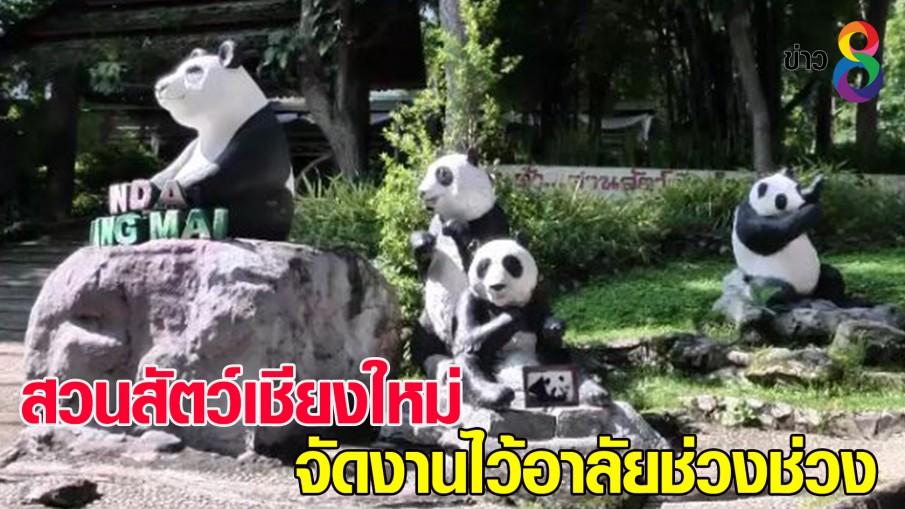 สวนสัตว์เชียงใหม่จัดงานไว้อาลัย ช่วงช่วง