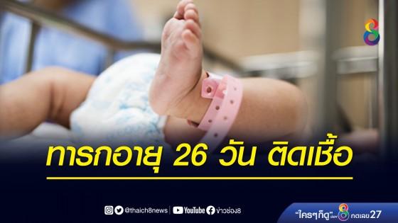 พบทารกอายุ 26 วัน ที่สมุทรสาคร ติดเชื้อโควิด-19